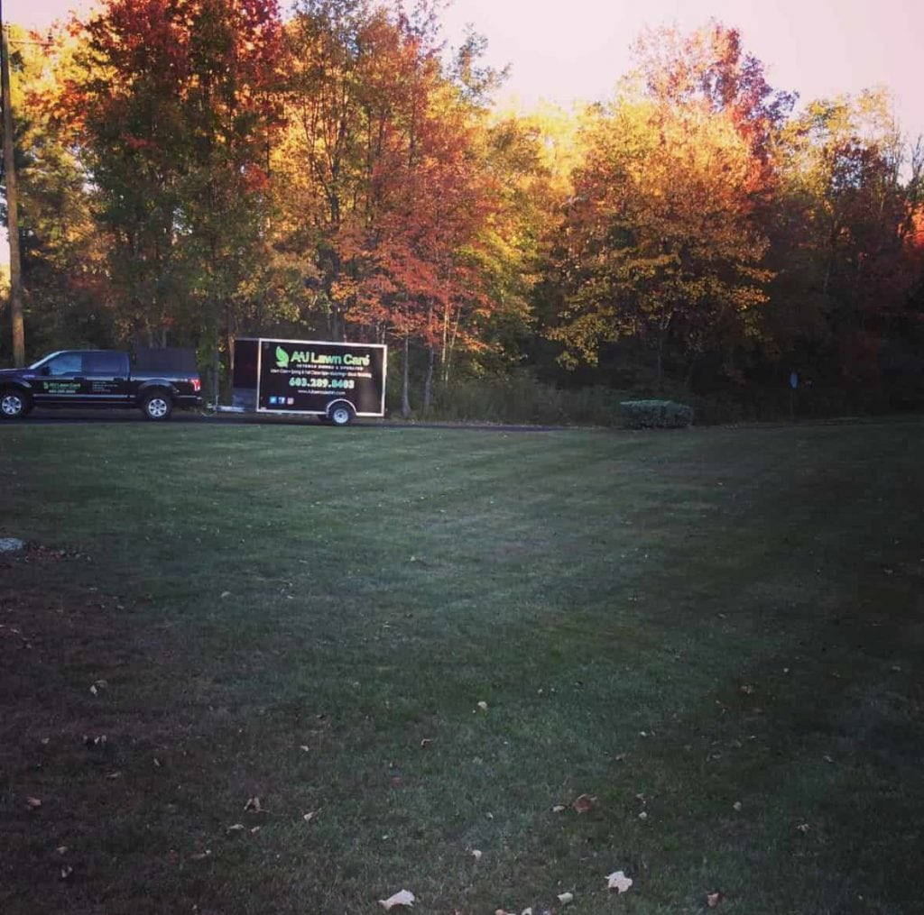 Fall Clean Up in Hooksett NH