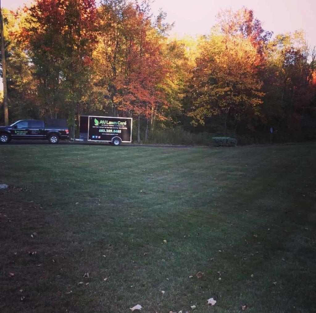 Fall Clean Up in Hooksett NH