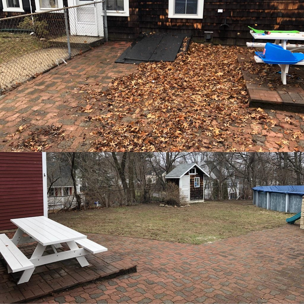 Here is a recent Manchester NH Spring Clean Up